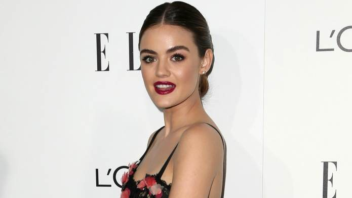 Lucy Hale isn't letting anyone get