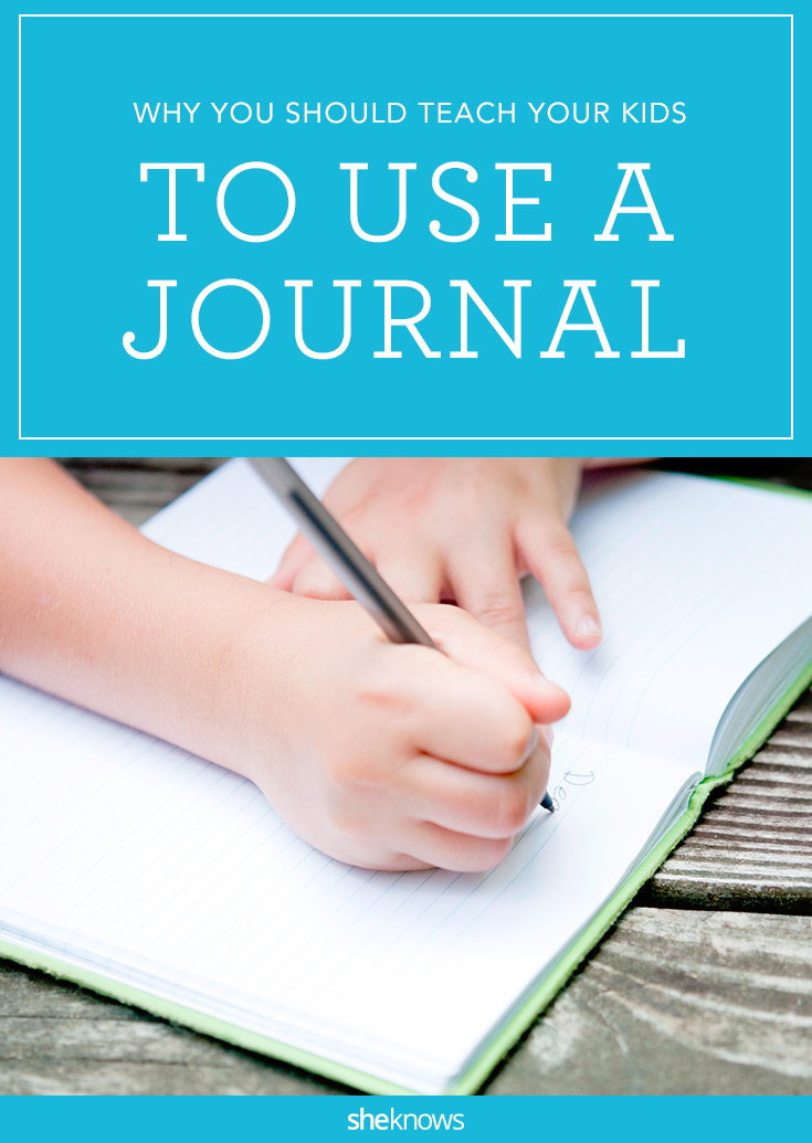 why kids should journal