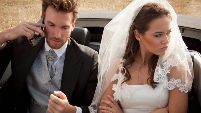 Texting caused a marriage's demise less