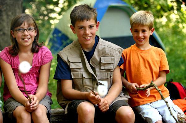 Kid camp paradise