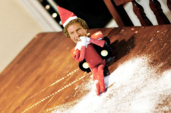 Will Ferrell Elf on the Shelf meme
