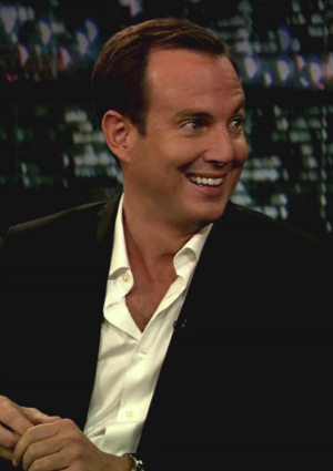 Actor Will Arnett on the Late Show with Jimmy Fallon