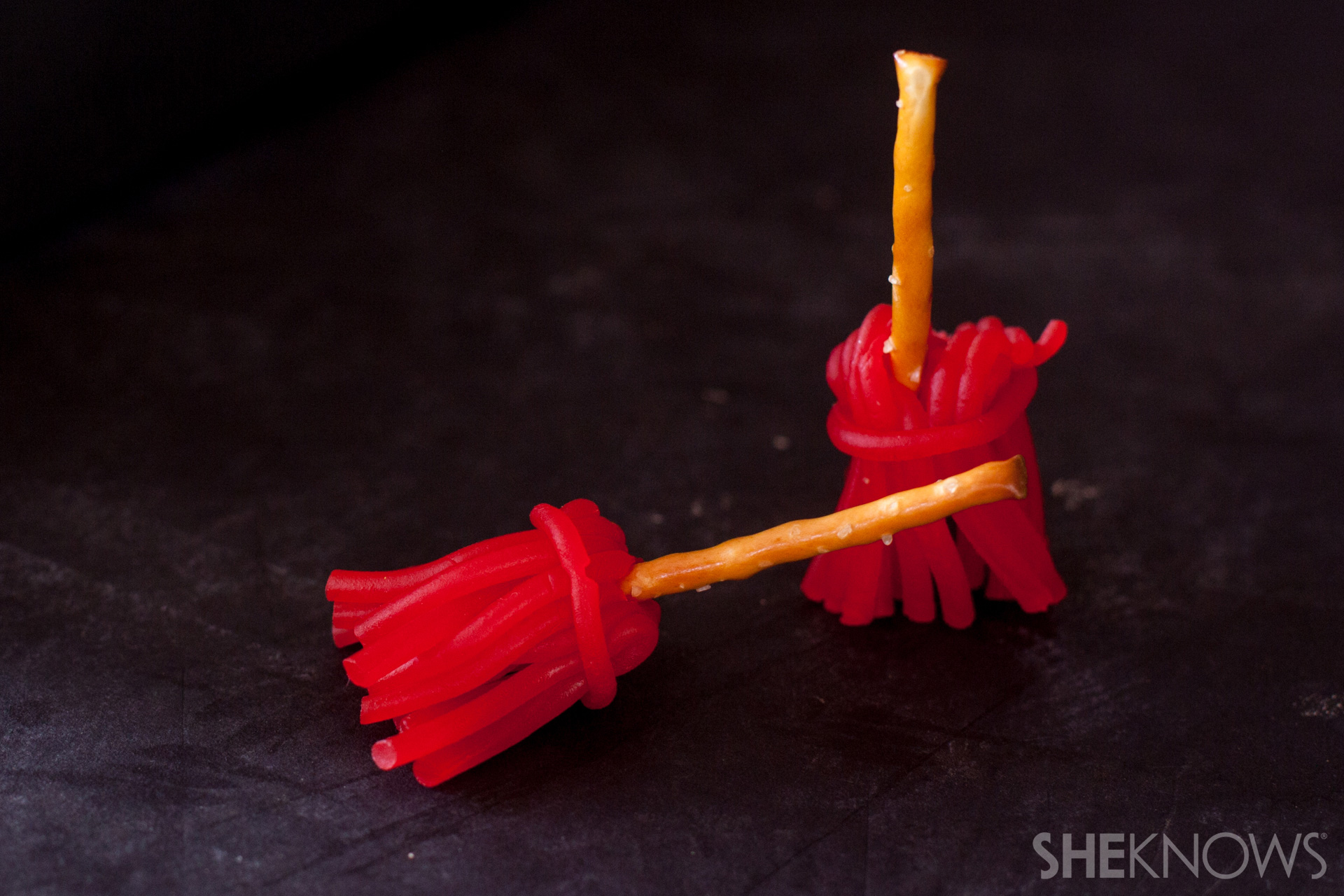 Cheese witch's broom