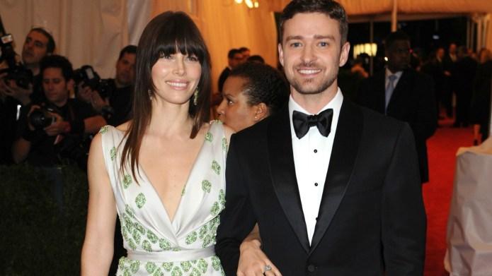 Jessica Biel and Justin Timberlake welcome