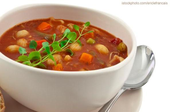 Tonight's Dinner: Vegetarian Minestrone Soup