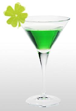 Green cocktails for St Patrick's Day