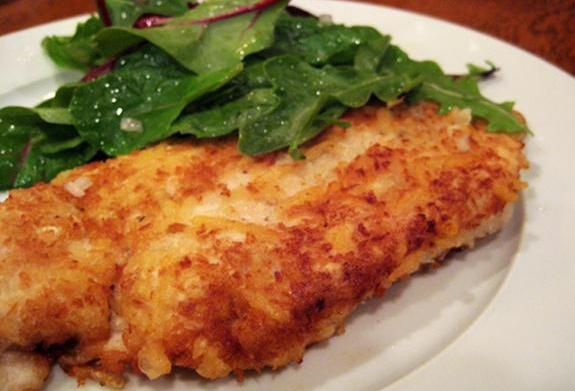 Tonight's Dinner: Chicken Milanese with Spring