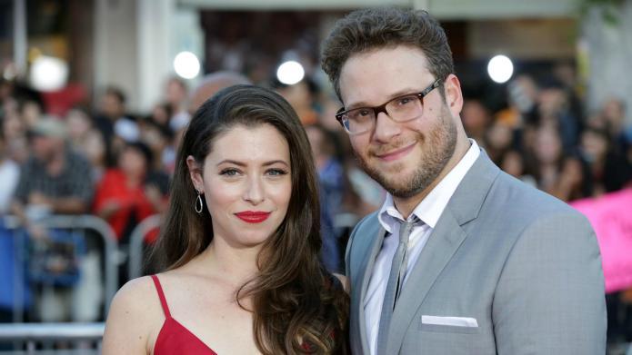 Lauren and Seth Rogen are looking