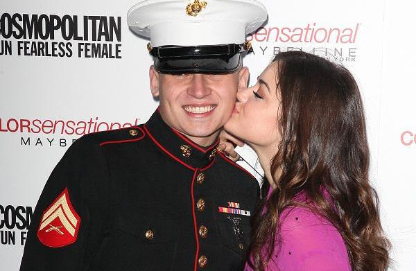Best celebrity salutes to the troops