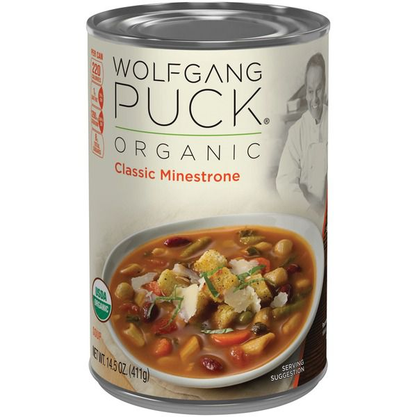 Wolfgang Puck Organic Minestrone