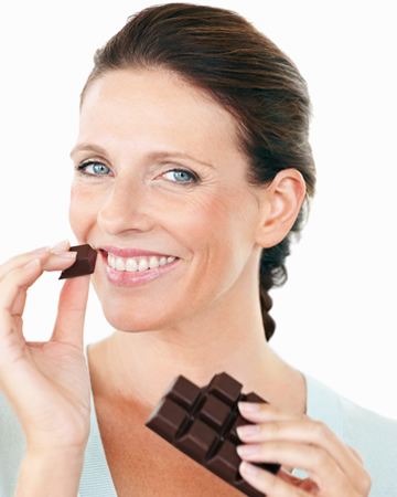 Why chocolate is good for your skin