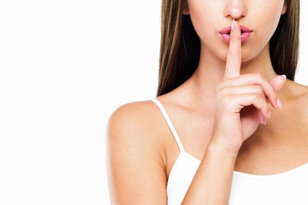 Woman Keeping Secrets | SheKnows.com.au