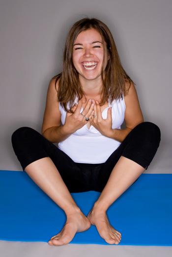 woman-laughing