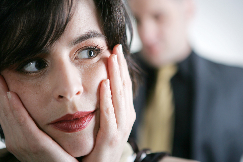 woman thinking about relationships and divorce