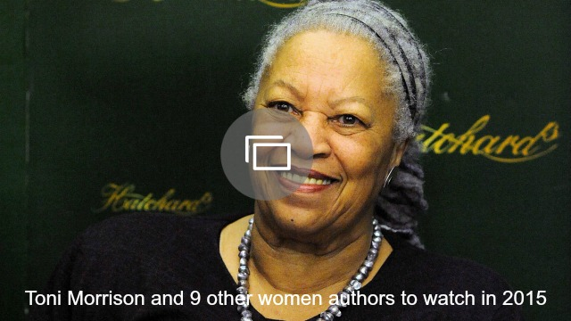 Woman authors in 2015 slideshow