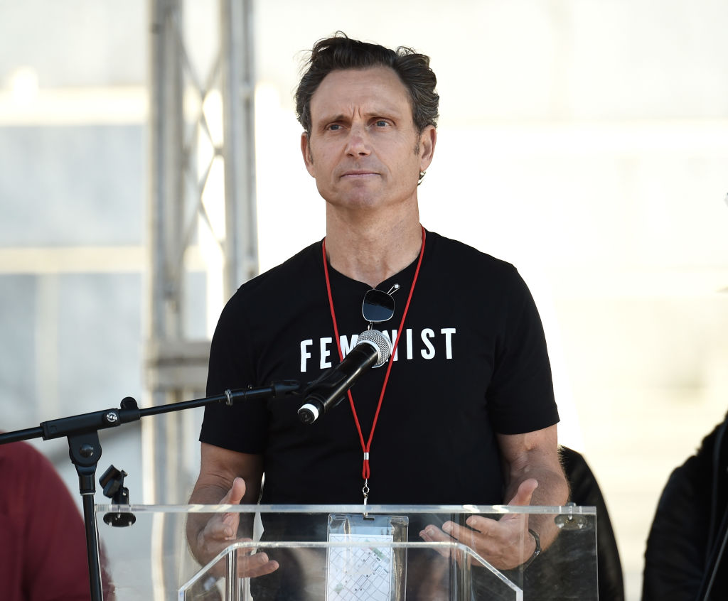 Tony Goldwyn at the 2018 Women's March