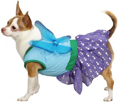 Casual Canine Woodland Fairy Dog Costume