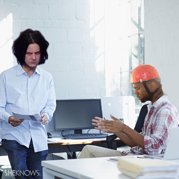 Kanye and Jack White