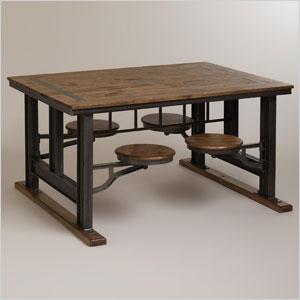 Worldmartket cafeteria table