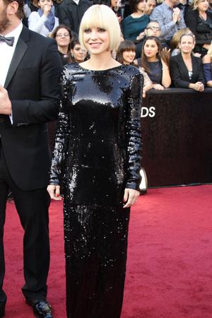 Oscars Worst Dressed -- Anna Faris