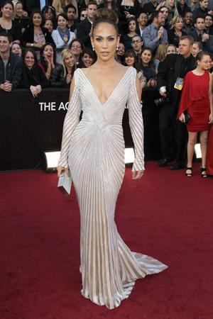 Oscars Worst Dressed -- Jennifer Lopez