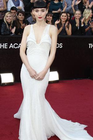 Oscars worst dressed -- Rooney Mara