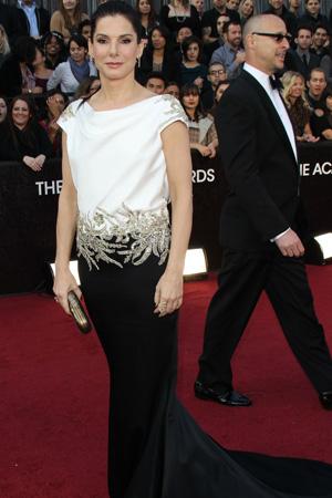 Oscars worst dressed -- Sandra Bullock