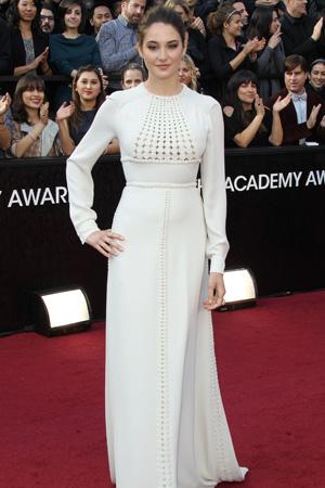 Oscars worst dressed -- Shailene Woodley