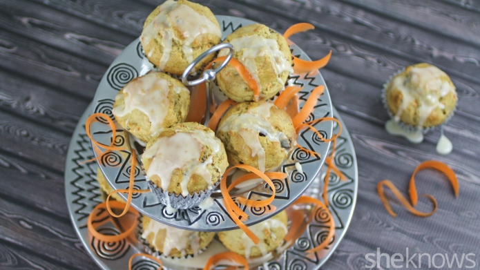 Gluten-free Friday: Carrot cake muffins with