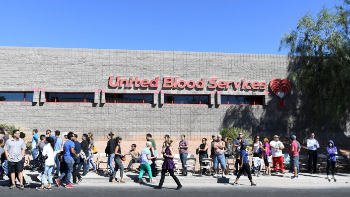 Las Vegas Blood Needs Met for