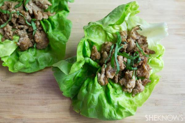 Ground Turkey Lettuce Wraps Recipe | SheKnows