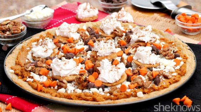 Turn pumpkin pie into a sweet