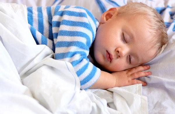 Finally, the baby's asleep