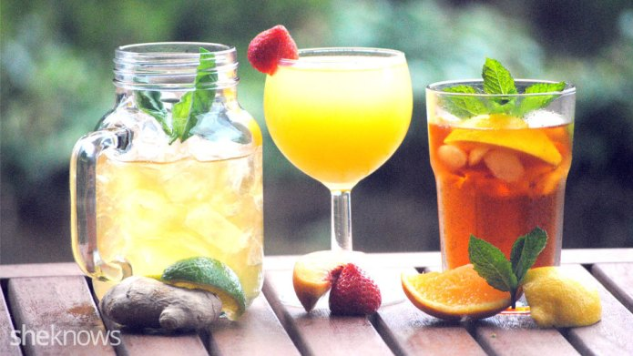 3 Classic cocktails: Pimm's, mojito and