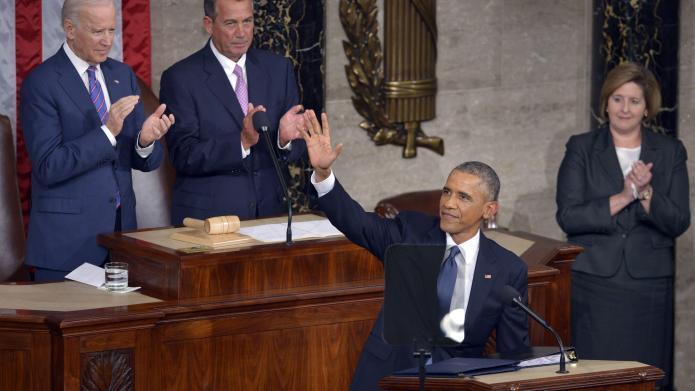 U.S. President Barack Obama delivers the