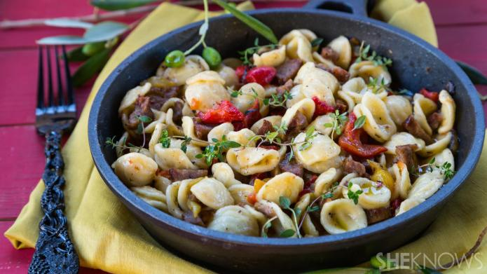 One-Pot Wonder: Simple, comforting orecchiette with