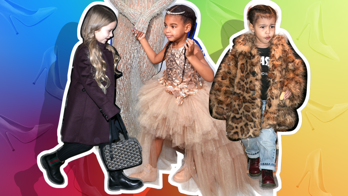 10 Adorable Times Celebrity Kids Tried