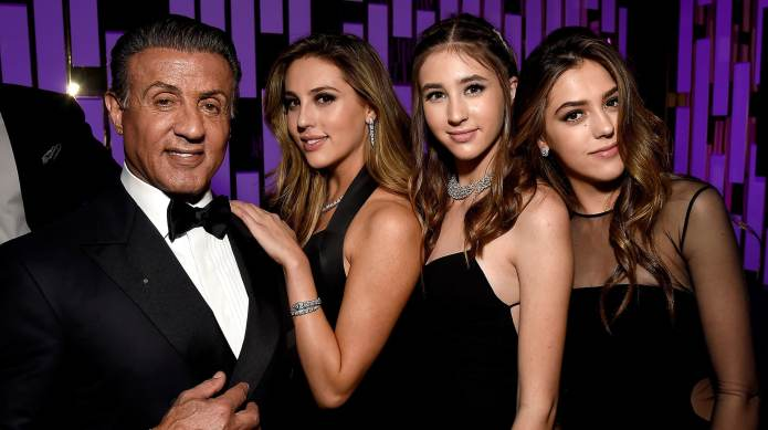 Sistine Stallone & her sisters are