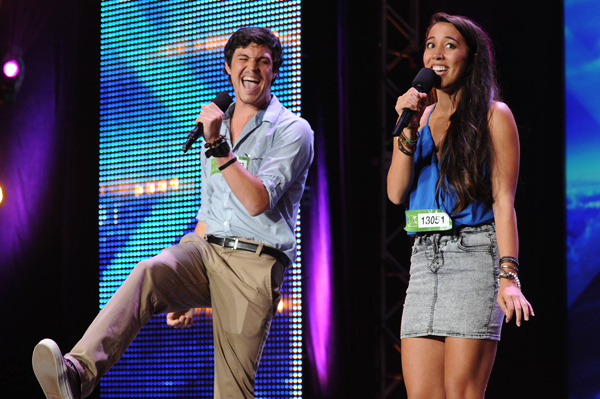The X Factor: Alex and Sierra