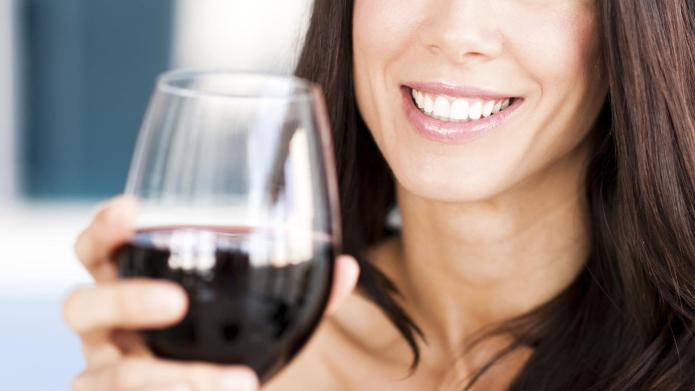 Wine protects against tooth decay, so