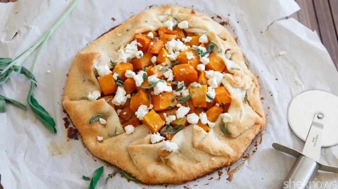 Premade pie crust makes maple butternut