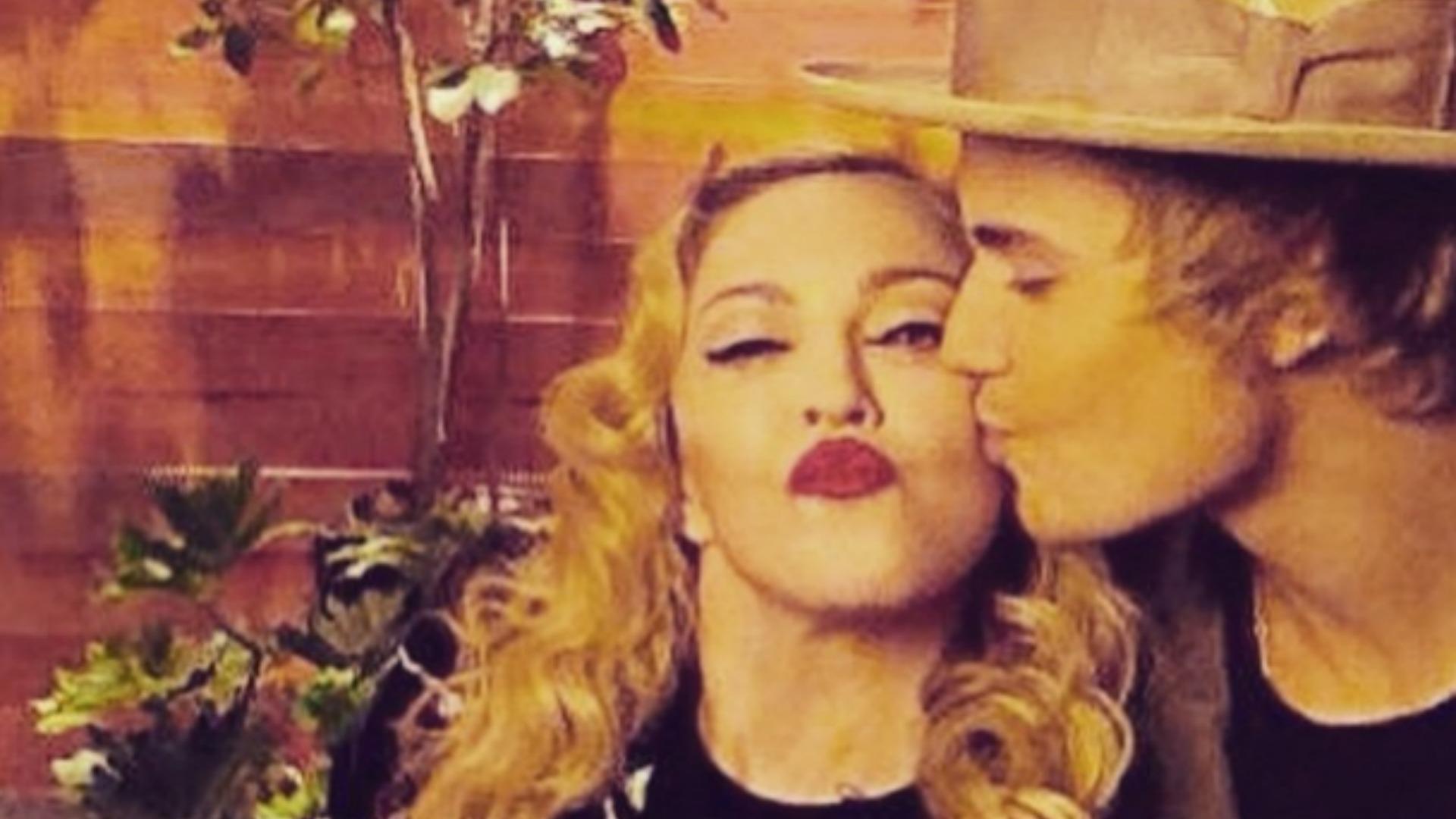 Madonna flirts with Justin Bieber hard-core on Ellen (VIDEO
