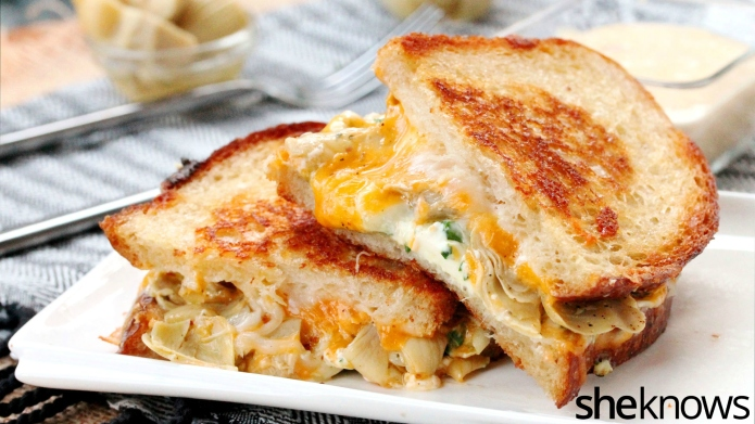 Upgrade your grilled cheese with veggies