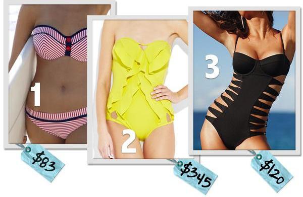6 Saucy swimwear trends