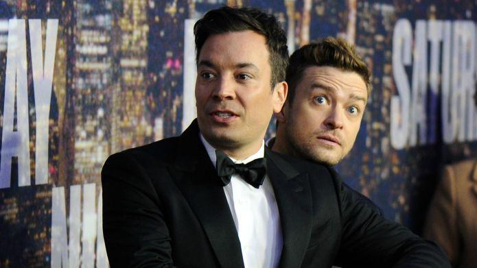 Jimmy Fallon and Justin Timberlake talk