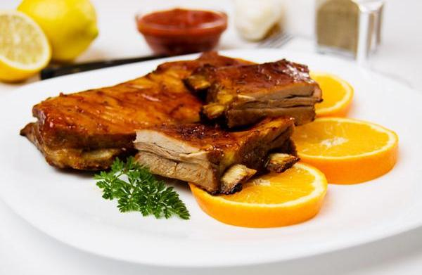 Tonight's Dinner: Orange and soy-glazed ribs