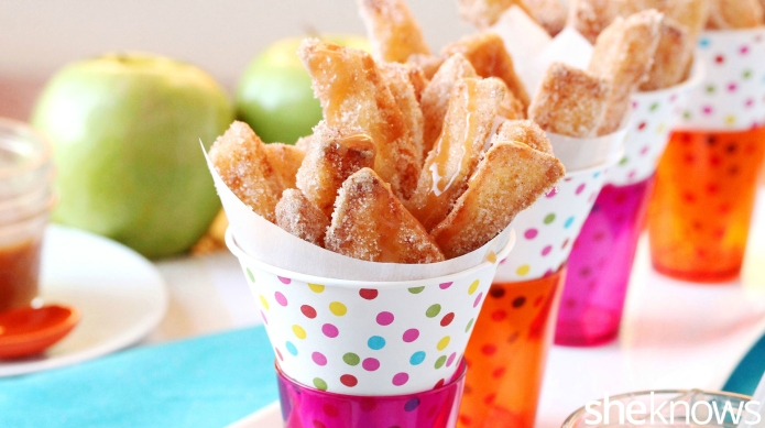 How to make apple fries with