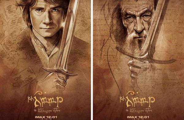 Epic Hobbit art for an epic
