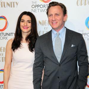 Rachel Weisz & Daniel Craig honored