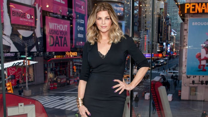 Kirstie Alley debuts new look one